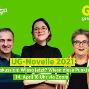 UG-Novelle 2021