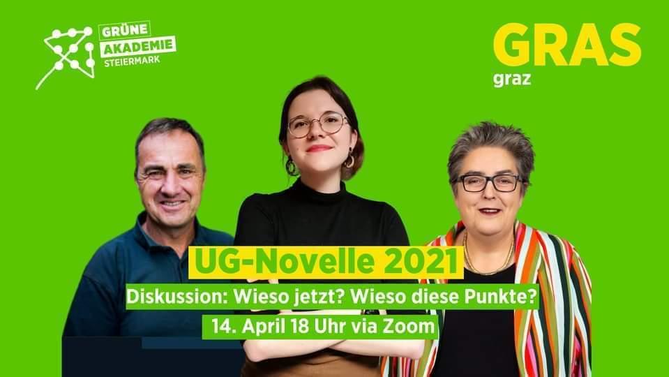 Diskussion zur UG-Novelle 2021