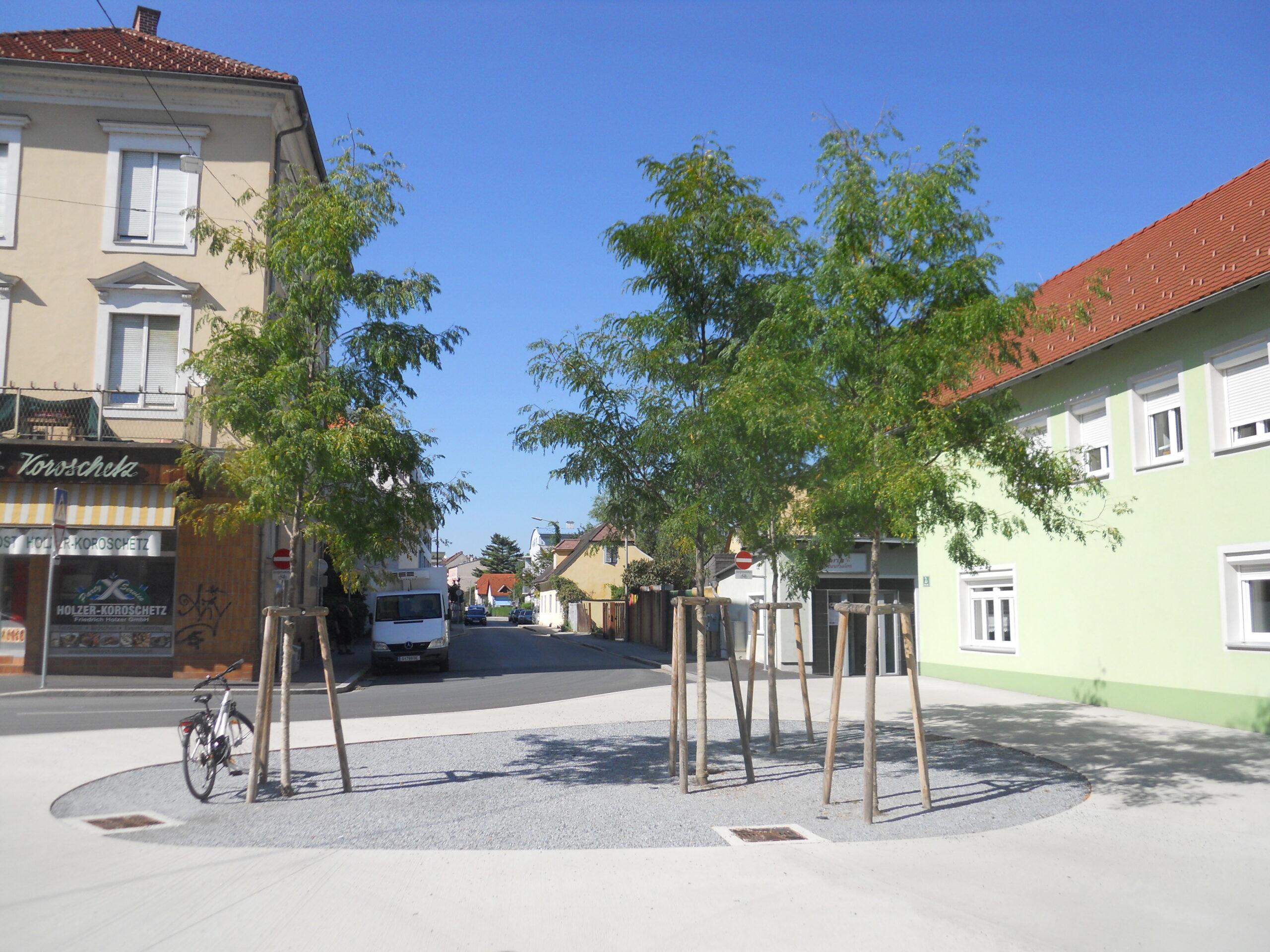 Gleditschien am Vorplatz vor dem Grazer Lendhotel (c)Tomas Stoisser